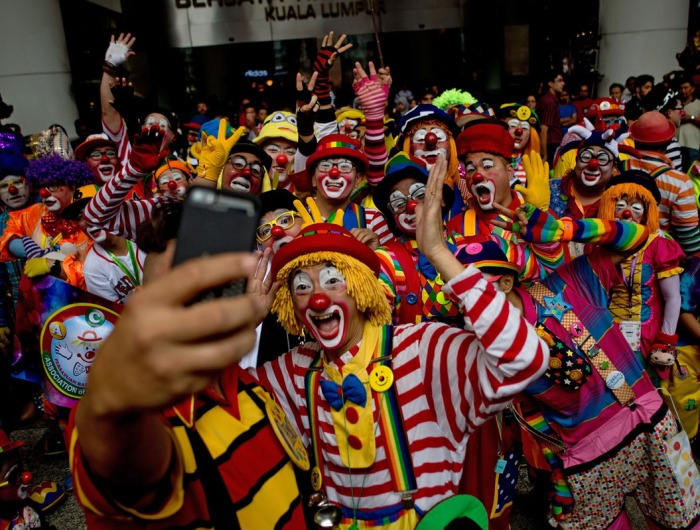 MALAYSIA-ENTERTAINMENT-CLOWN-FESTIVAL